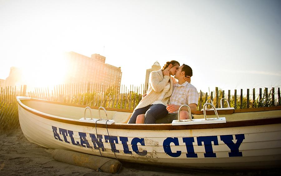 Atlantic City Engagement Photos