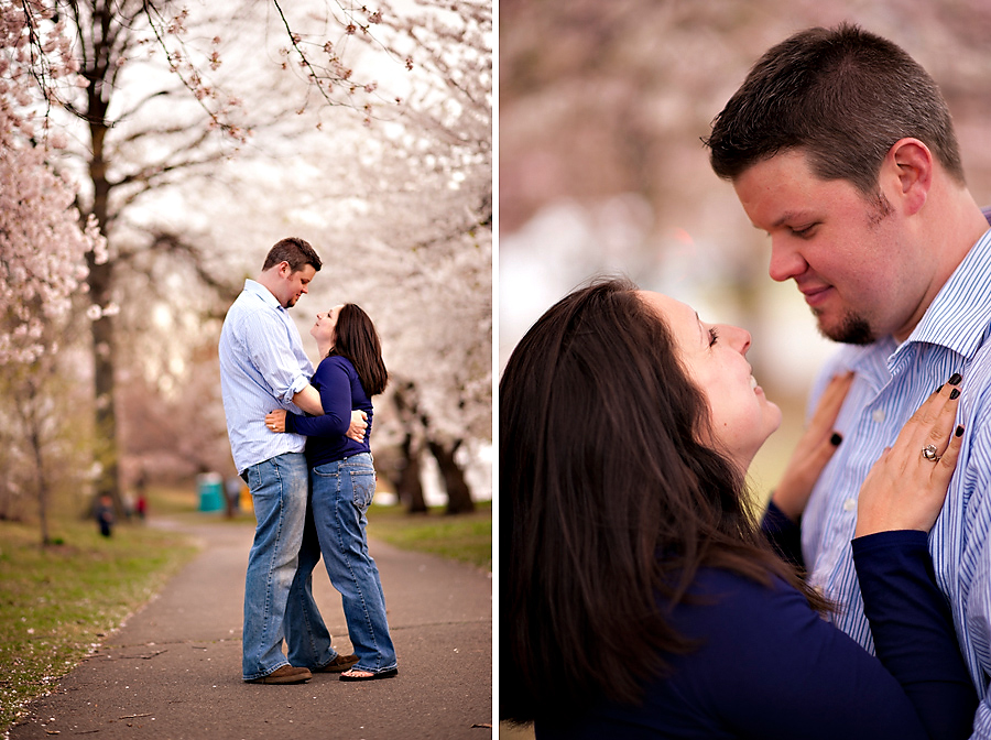 Branch Brook Park Engagement Portraits {Jennifer & Dan}