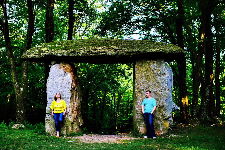 Abby & Joe's Columcille Megalith Park Engagement Photos