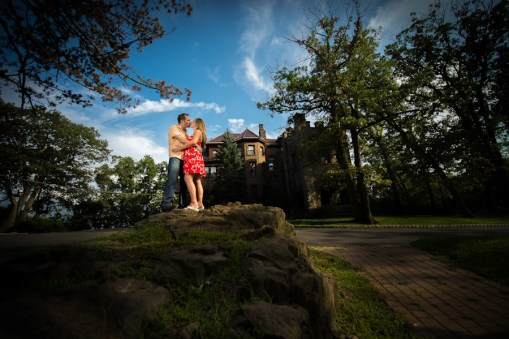Lindsey & Phil's Kip's Castle Engagement Photos