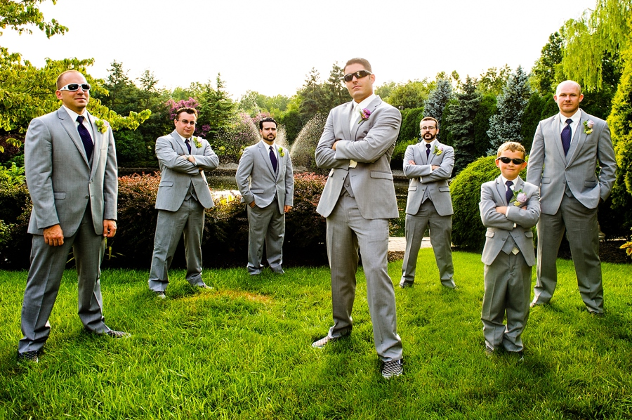 Badass Wedding Portrait of Groomsmen