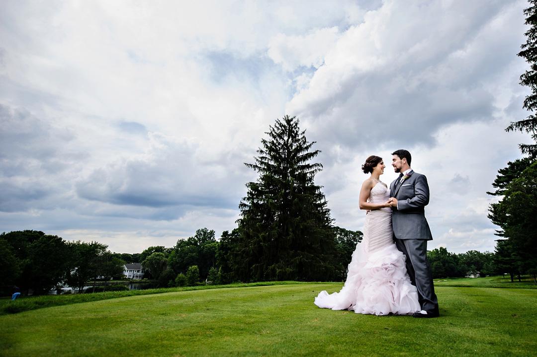Ramsey Country Club Wedding Photo