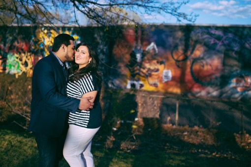 Joyce & Nector's Branch Brook Park Engagement Photos