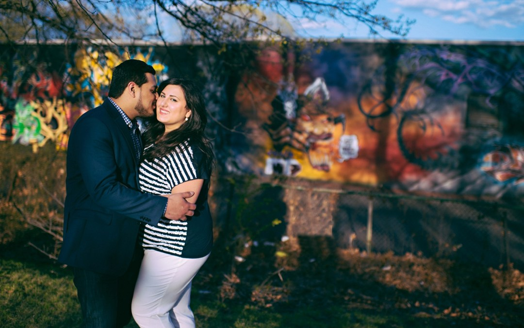 Branch Brook Park Engagement Photos | Joyce & Nector