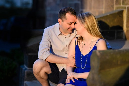 Caitlin & Ryan's Rutgers University Engagement Photos
