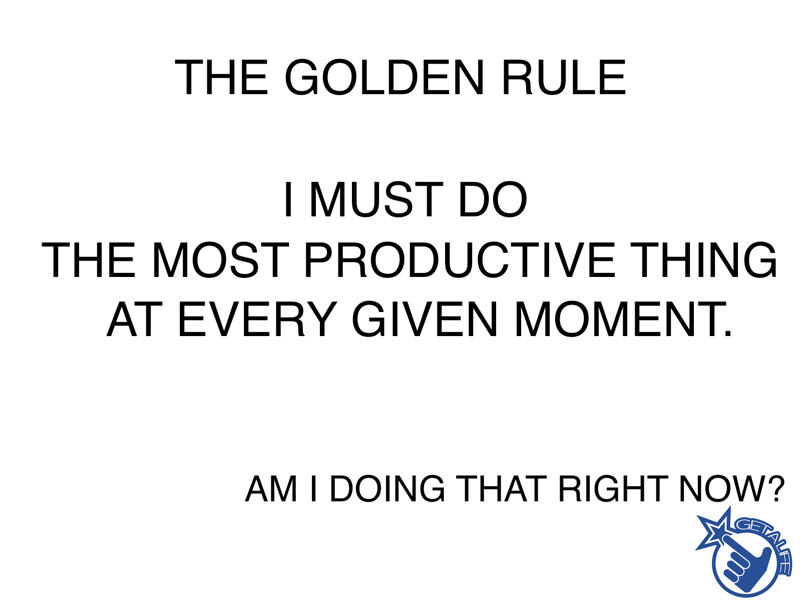 How To Be Productive And Stay Productive The Real Golden