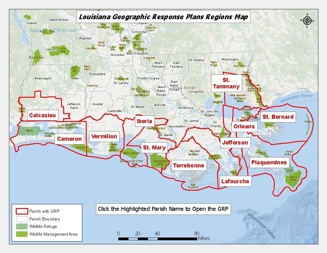 Louisiana Grp Map