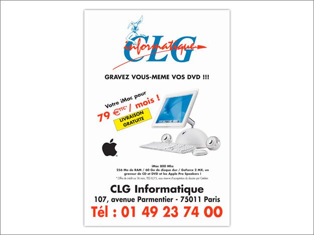 Publicité iMac