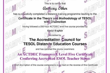 legal english online certificate sample. tefl certificate template ...