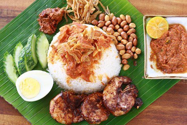 nasi lemak dish malaysia