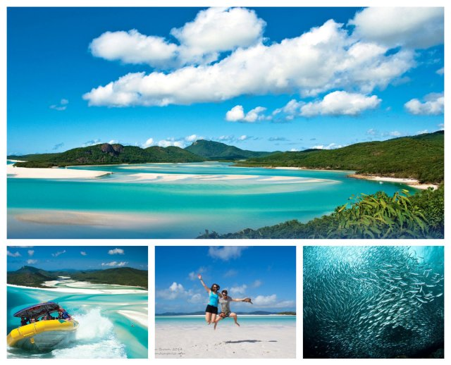 whitsundays collage highlights from a year in australia