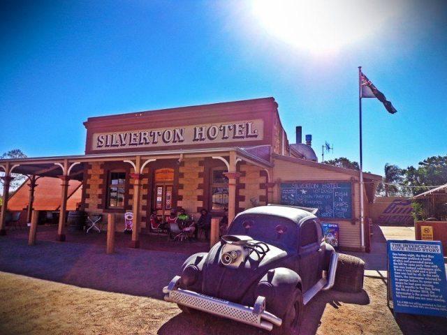 silverton hotel outback nsw australia