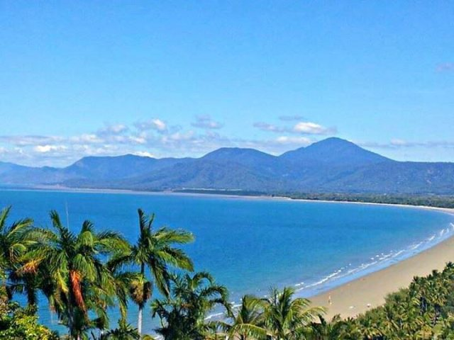 port douglas beach north queensland australia