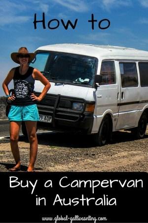 How to Buy a Campervan in Australia