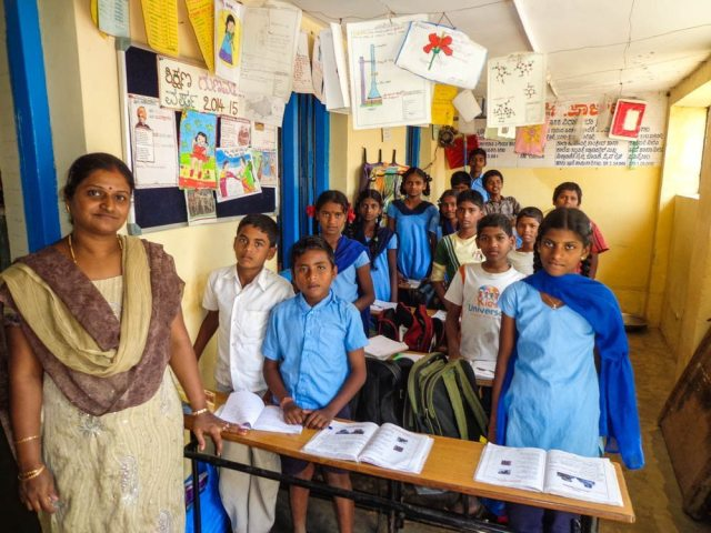 volunteering in india schools
