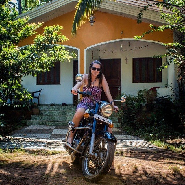 royal enfield house in goa