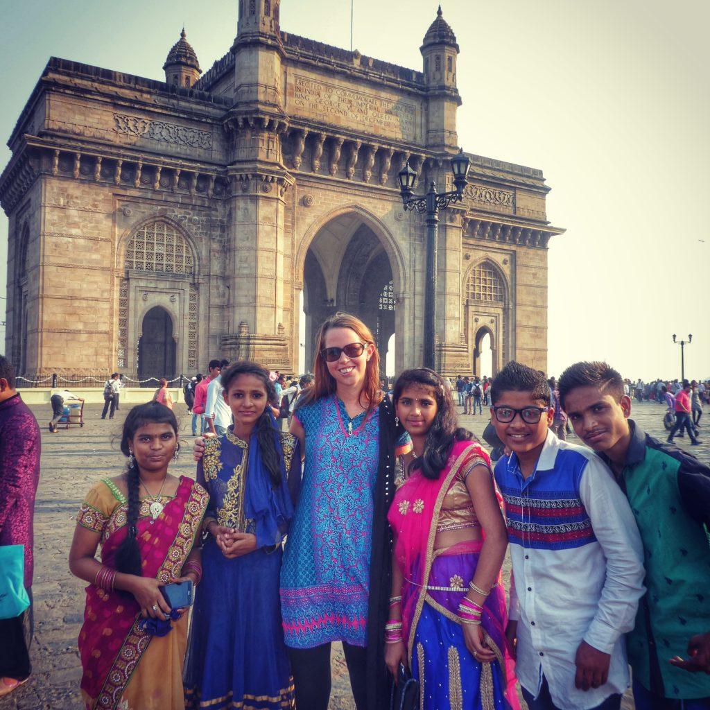 Making new friends in Mumbai, India