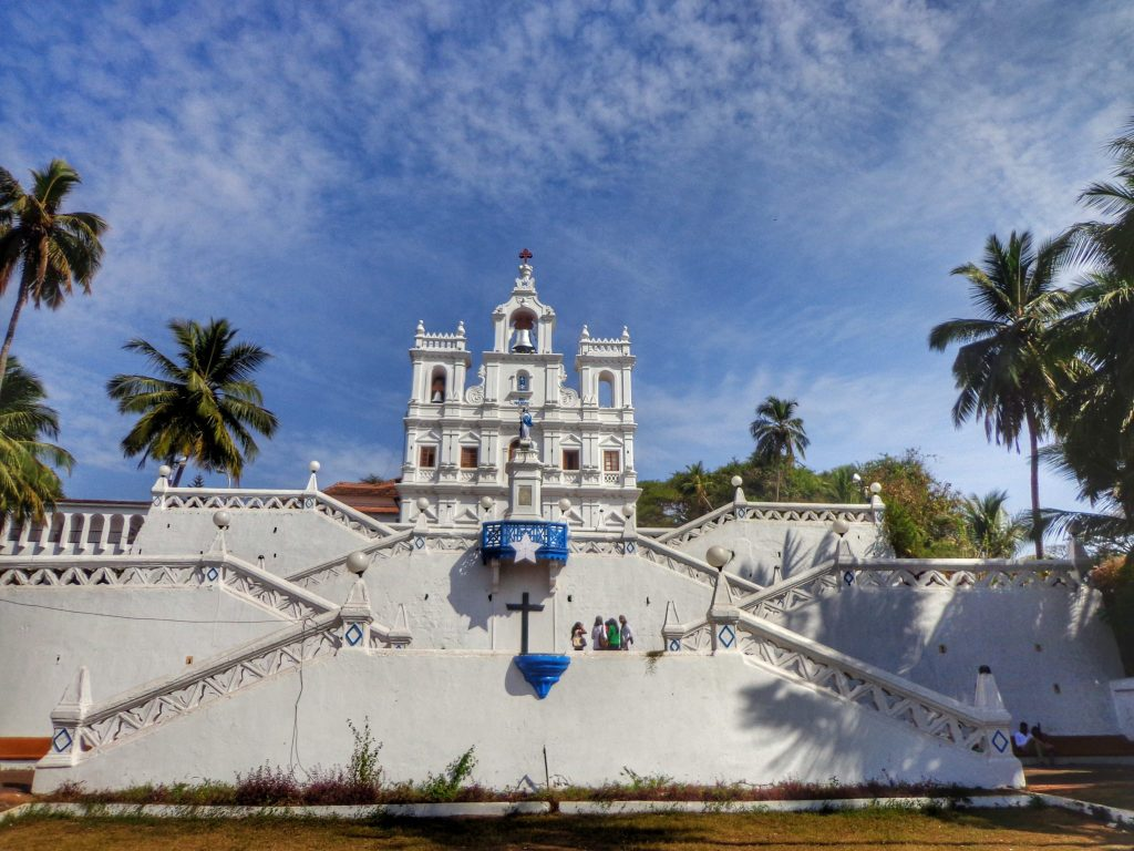 The church of our lady of the immaculate conception in Panjim