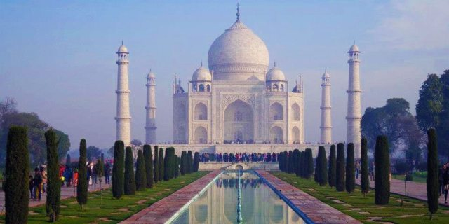The Taj Mahal, India's most iconic building