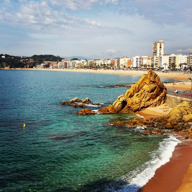 Lloret de Mar in Costa Brava, Spain where TBEX Europe 2015