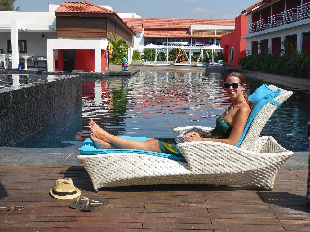Working remotely as a digital nomad