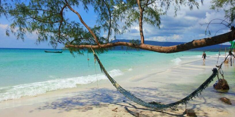 Koh Rong island in Cambodia - beautiful, almost deserted and a whole lot cheaper than a flat in London!