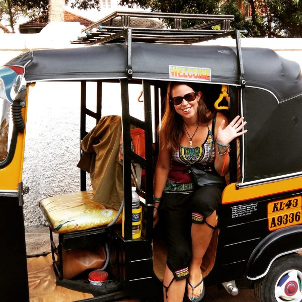 Traveling in a rickshaw is fun and cheap as long as you don't get taken for a ride!