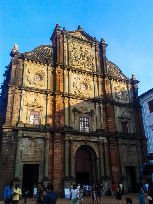 The Basilica of Bom Jesus in Old Goa