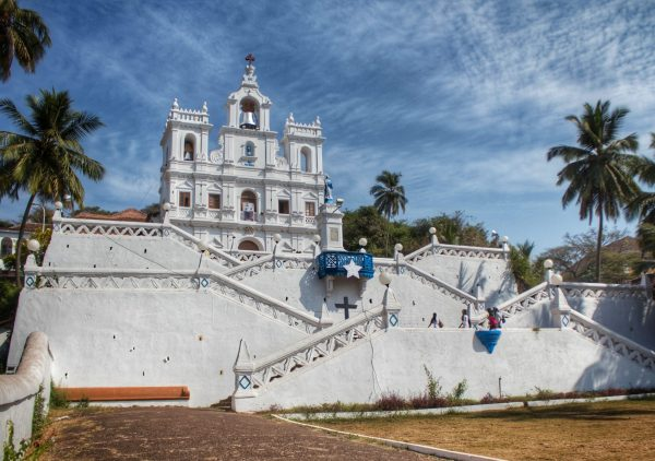 The church in Panjim