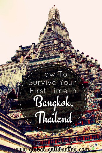 How to Survivie your first time in Bangkok, Thailand