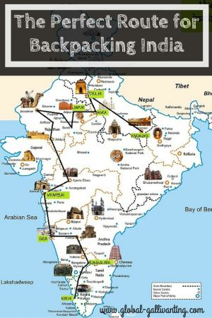 The Perfect Route for Backpacking India