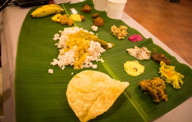 Traditional Kerala Thali