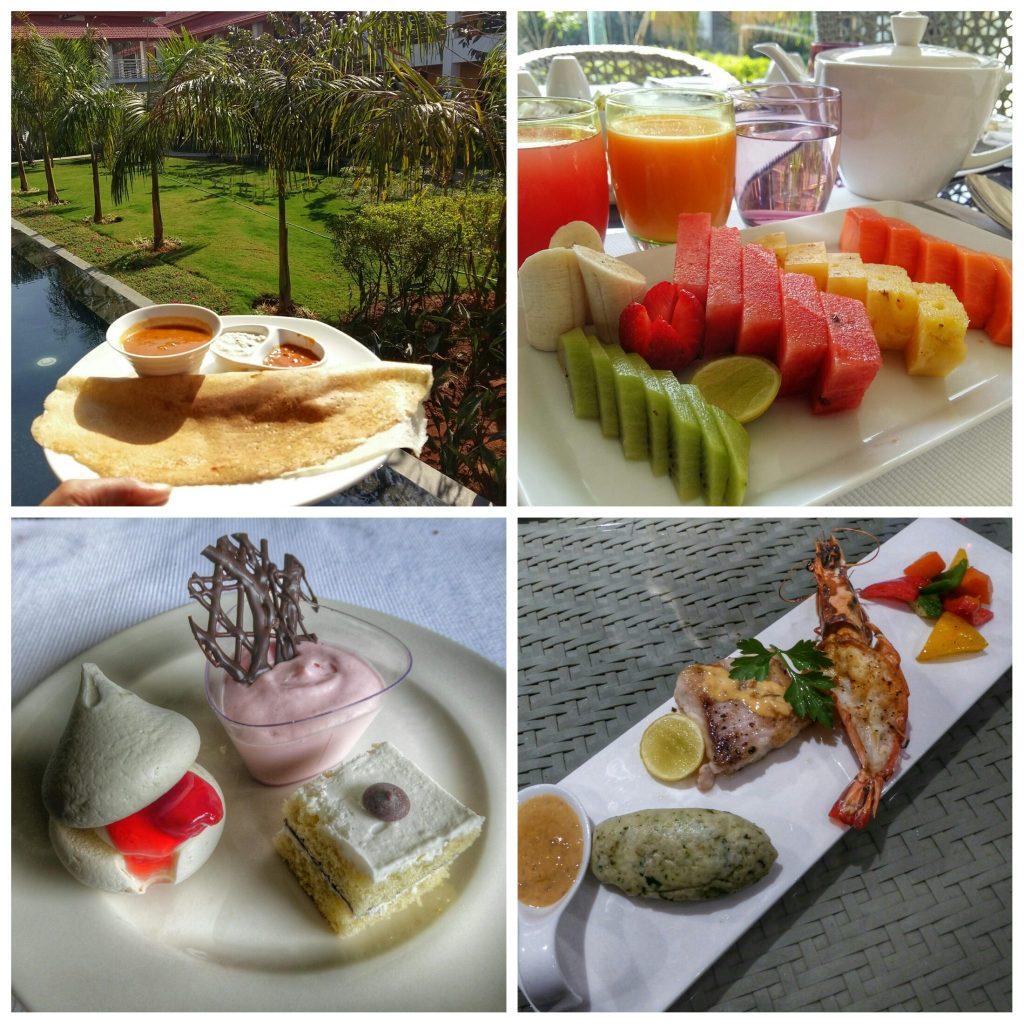 Amazing food at Planet Hollywood Goa