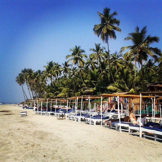 Ashvem Beach in North Goa