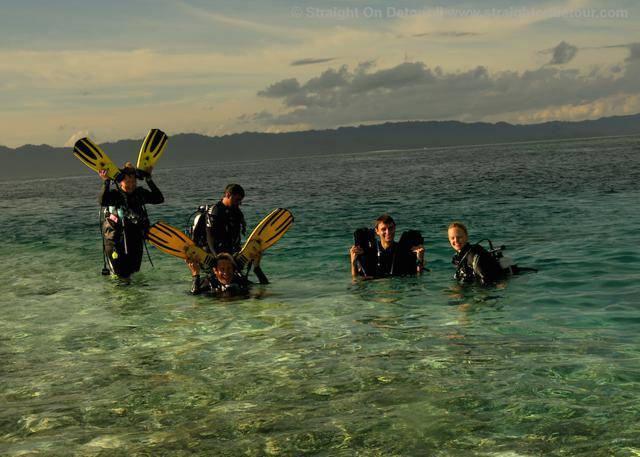 prue and becks diving