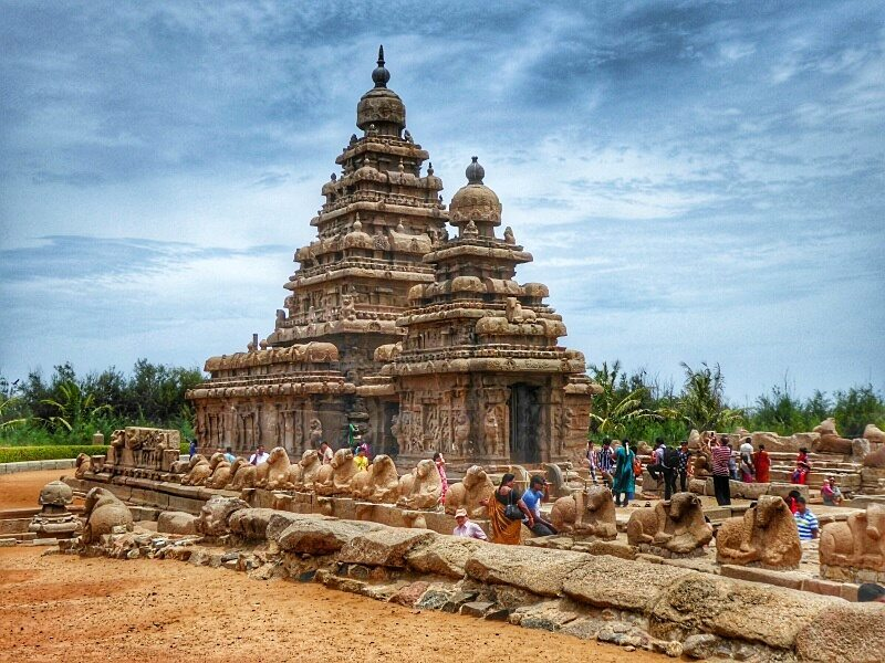 The Shore Temple in Mahabalipuram