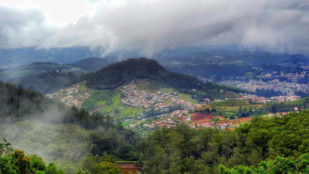 View over Ooty, Tamil Nadu
