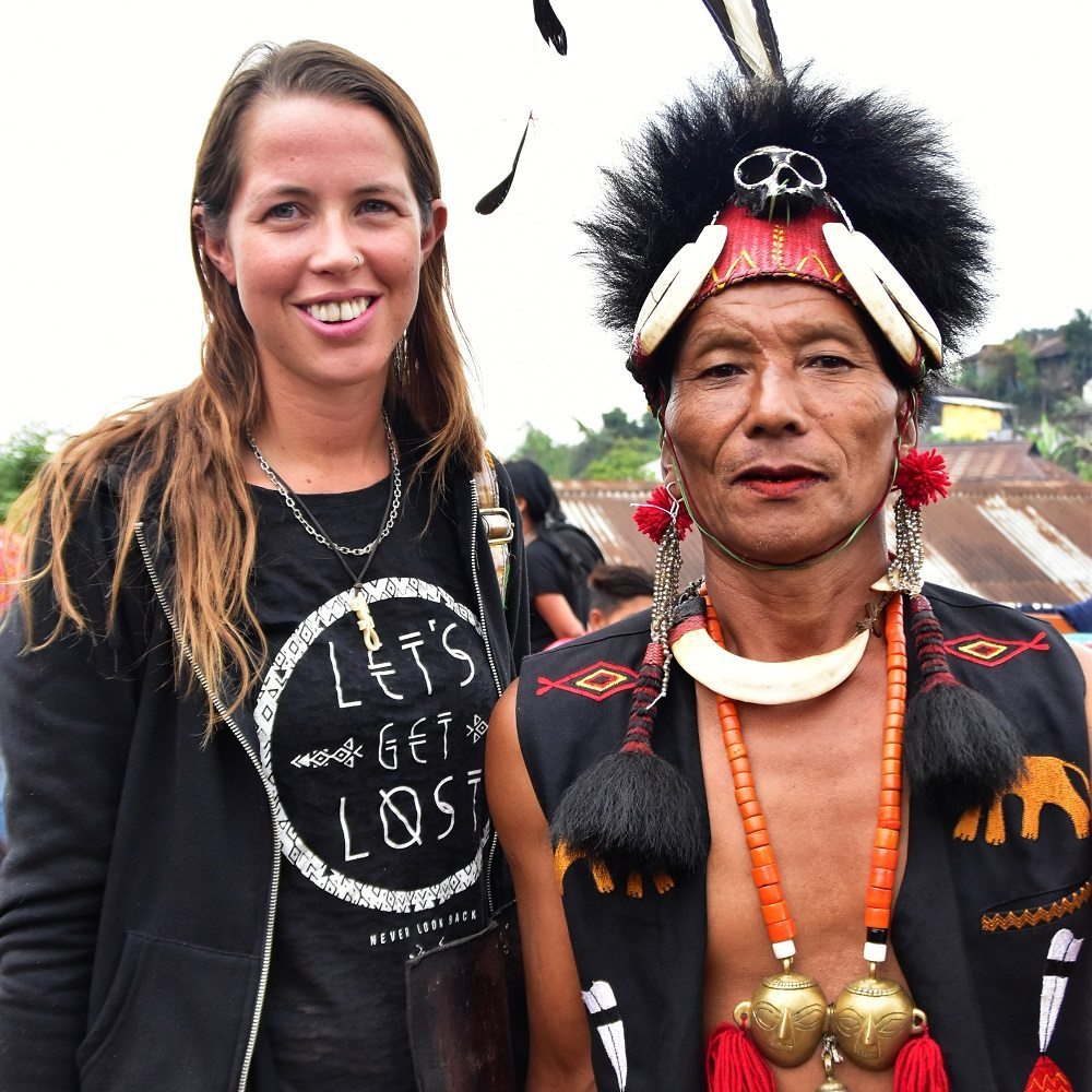 Meeting the headhunters at the Aoling Festival in Nagaland