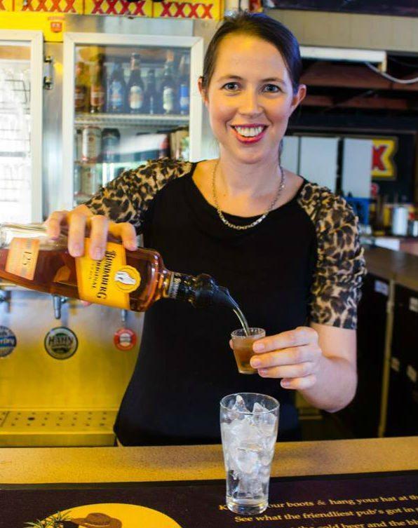 Working in an Aussie pub