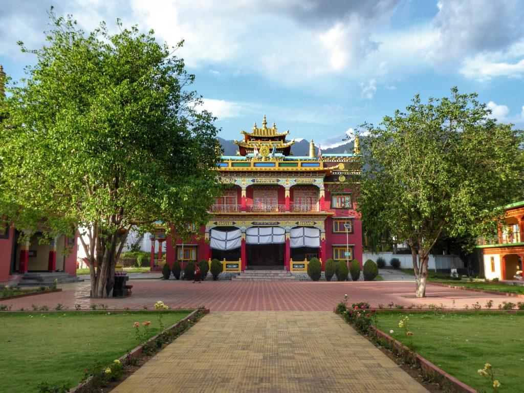 Choukling monastery in Bir