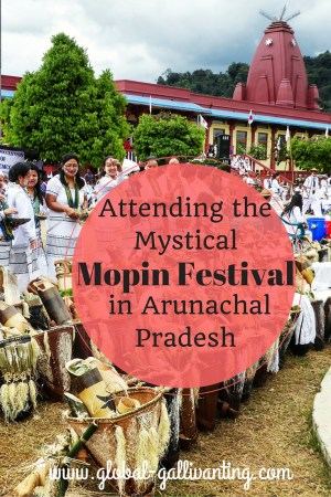 Attending the mystical Mopin festival in Arunachal Pradesh, North East India