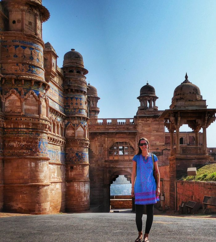 At Gwalior Fort