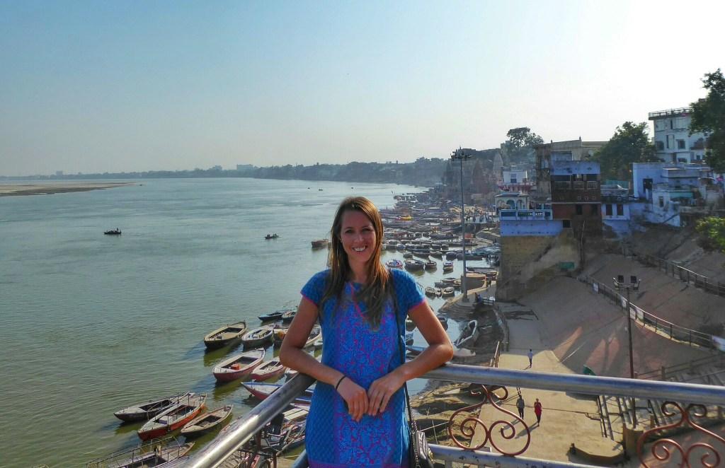 Anna in Varanasi