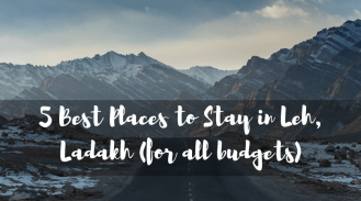 5 Best Places to Stay in Leh, Ladakh (for all budgets)