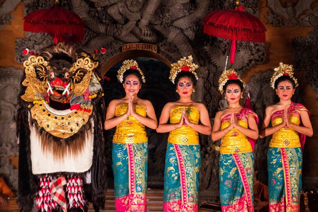Balinese Kecak dance ceremony