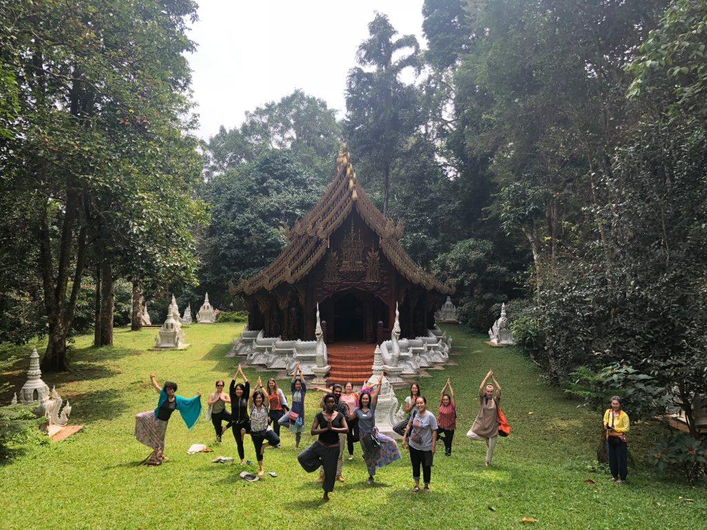 yoga vidya mandiram chiang mai yoga teacher training in thailand