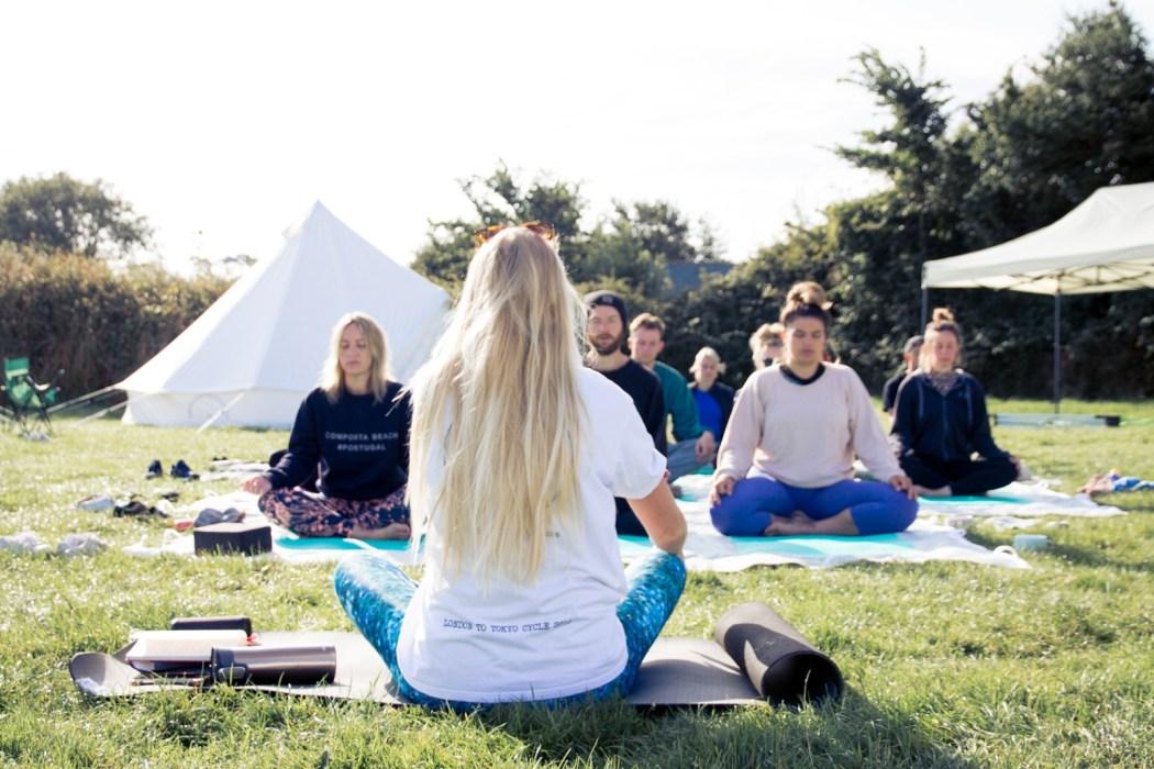 swell yoga Best UK yoga retreats