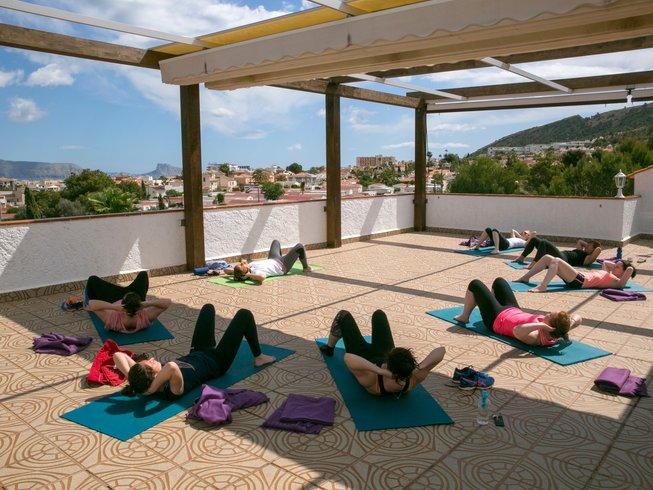 la crisalida yoga retreats in spain, europe