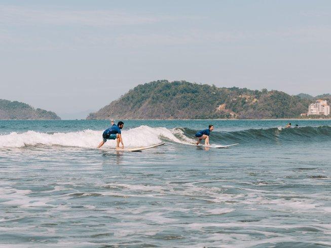 vida asana surfing in costa rica