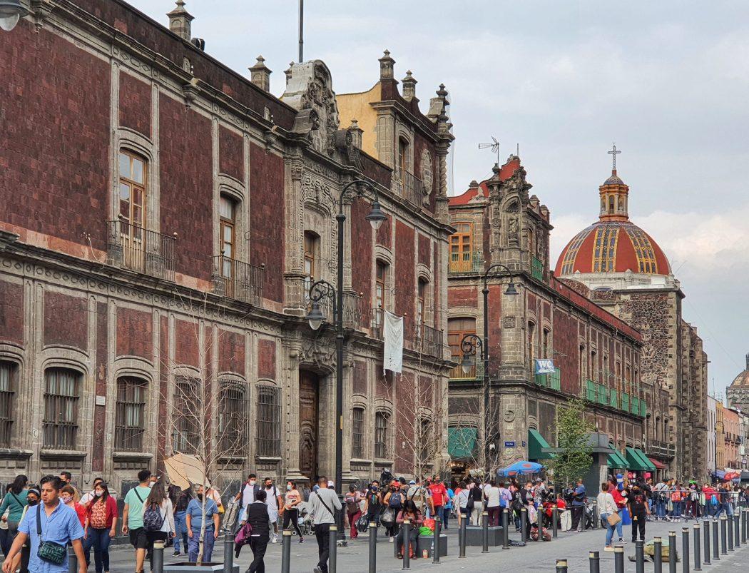 Centro Historico, Mexico city 2021